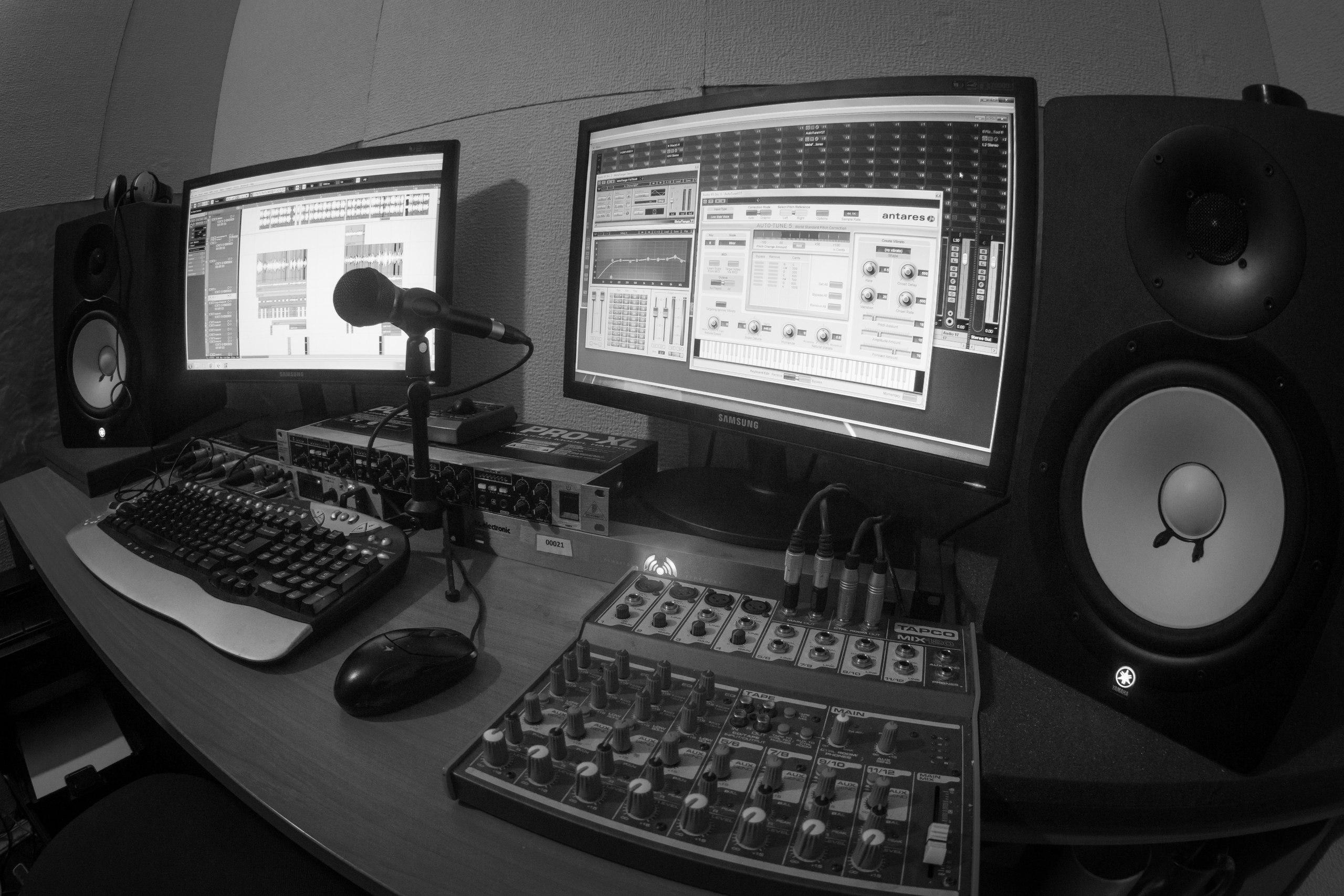 Звукорежиссёра — в студию!!!
